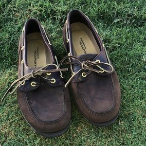 Rockport Perth Style sz 10 brown Great Condition!